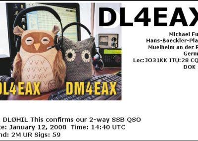 2008-01-12-dl4eax-2m-ssb