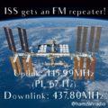 SSTV Übertragung aus der ISS