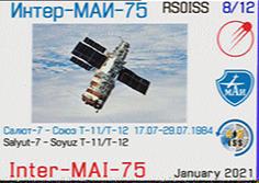 MAI-SSTV experiment 06.08.2021 – 07.08.2021 (SSTV event)
